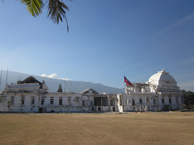 The Presidential Palace, close-up